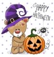 Halloween Bear vector image vector image