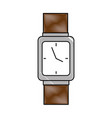 handle time clock isolated icon vector image