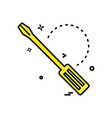 labour tools icon design vector image vector image