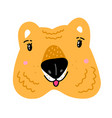 quokka cartoon australian animal doodle vector image