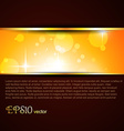 shiny template vector image vector image