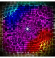 abstract colorful geometric background vector image vector image