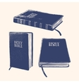 Bible llustration vector image vector image