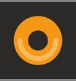 black hole icon for app web design vector image vector image