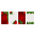 christmas hilidat background for instagram vector image