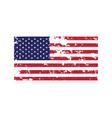 flag american icon vector image vector image