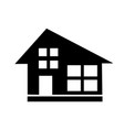 icon real estate commercial residential and vector image vector image