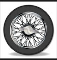 knock on wire wheel vector image vector image