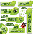 sale spring vector image