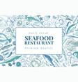 seafood can be use for vector image vector image