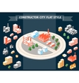 Urban constructor vector image vector image