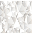 White crumpled abstract background vector image vector image
