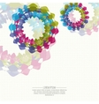abstract background with texture of dots colored vector image vector image
