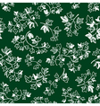 doodle ivy leaves seamless pattern vector image vector image
