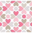 floral seamless pattern red pink gray brown