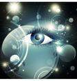 mystic psychedelic Galaxy vector image vector image