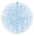 Procrastinators Anonymous PAA text background vector image vector image