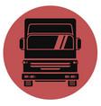 icon truck vector image