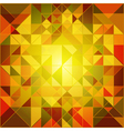Abstract Autumn Colors Geometric Background vector image vector image