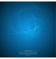 Abstract background with glowing spiral vector image vector image