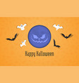 happy halloween holiday sale composition 01 vector image vector image
