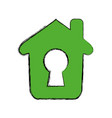 house insurance and security vector image vector image