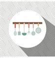 kitchen utencils design vector image