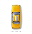 New York Taxi vector image vector image