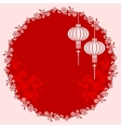 Oriental Chinese Lantern vector image vector image