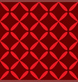 seamless abstract grid art dark red pattern vector image vector image