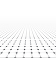 Tiled infinite floor vector image