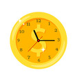 time is money clock vector image vector image