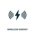 wireless energy icon premium style design from vector image vector image