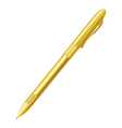 Yellow pen on a white background Isolate vector image vector image