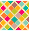 Retro colorful seamless pattern vector image