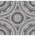 abstract oriental seamless pattern floral vector image