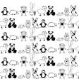 animals pattern vector image vector image