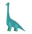 diplodocus icon cartoon style vector image vector image