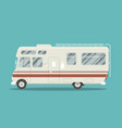 flat mobile home vector image vector image