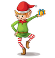 Little elf vector image vector image