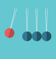 spheres on threads concept vector image