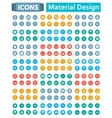 Universal Set of Icons in Style of Material Design