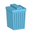 waste garbage isolated icon vector image vector image