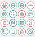 web icons set collection safeguard research