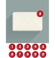 Envelope Mail Icon vector image
