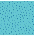 rain drops on a teal background seamless pattern vector image