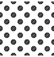 basketball ball pattern vector image vector image