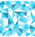 Blue Ice Mosaic Background Creative Business Desi vector image