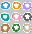 Chef hat sign icon Cooking symbol Cooks hat vector image