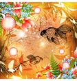 Fantasy Nature Fish vector image vector image